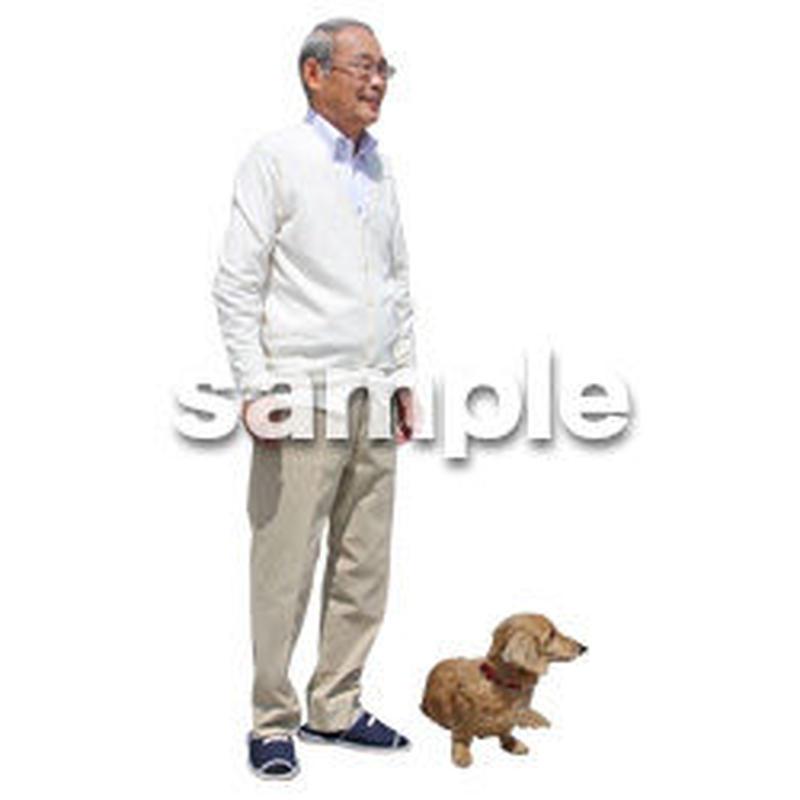 人物切抜き素材 シニアライフ編 R_492
