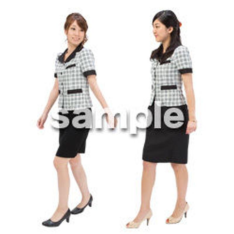 Cutout People ビジネス-日本人 EE_097