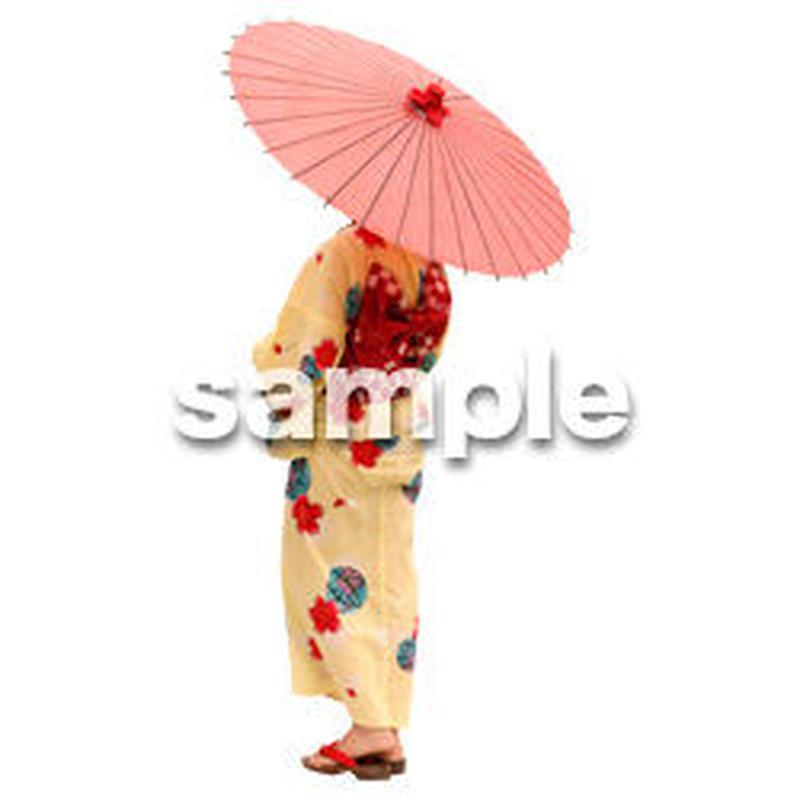人物切抜き素材 夏服・フィットネス編 J_049