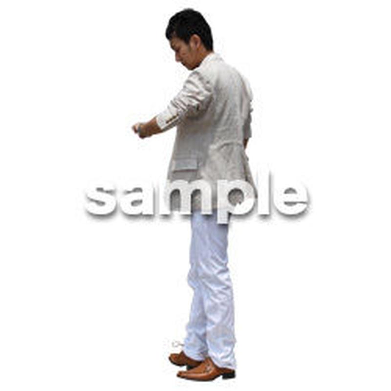 人物切抜き素材 アーバン・ショッピング編 M_323