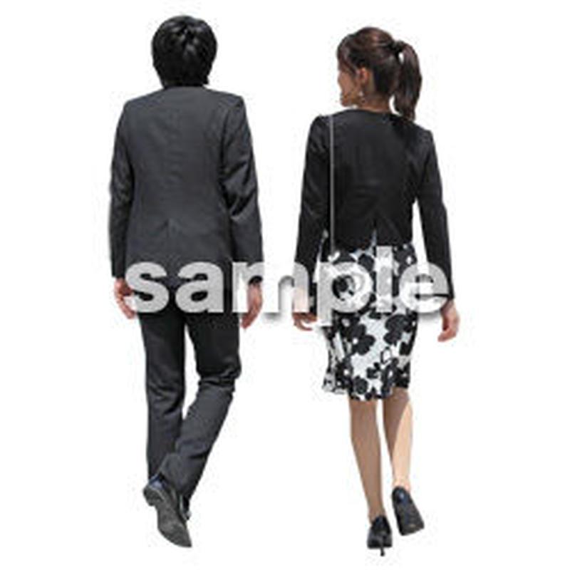 人物切抜き素材 ベーシックファッション編 P_060