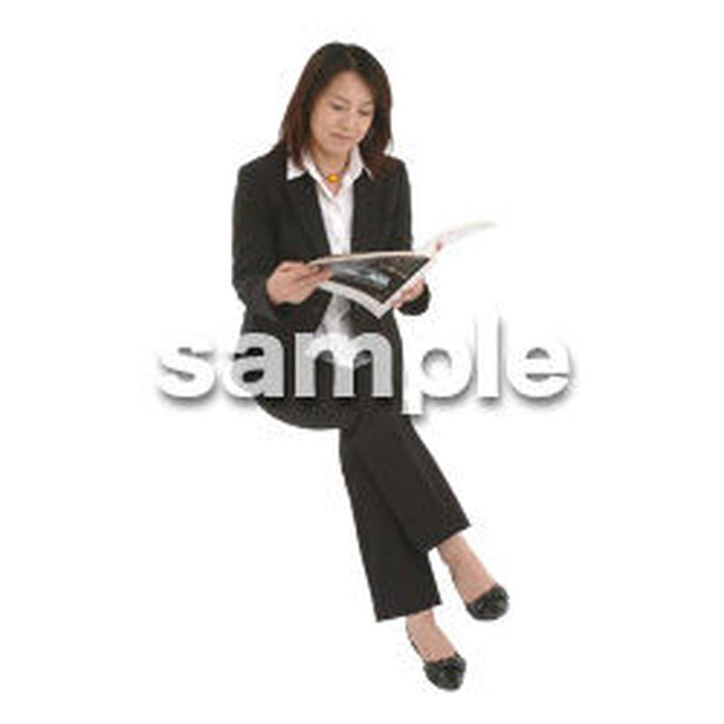 人物切抜き素材 オフィス・フォーマル編 G_184