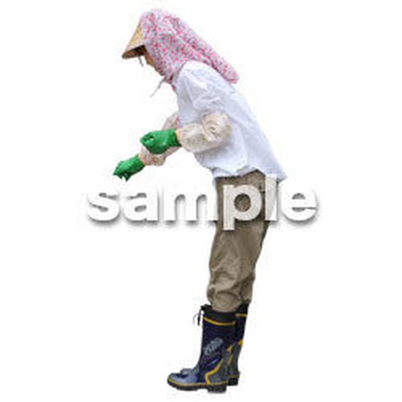 農作業 女性 NO_09