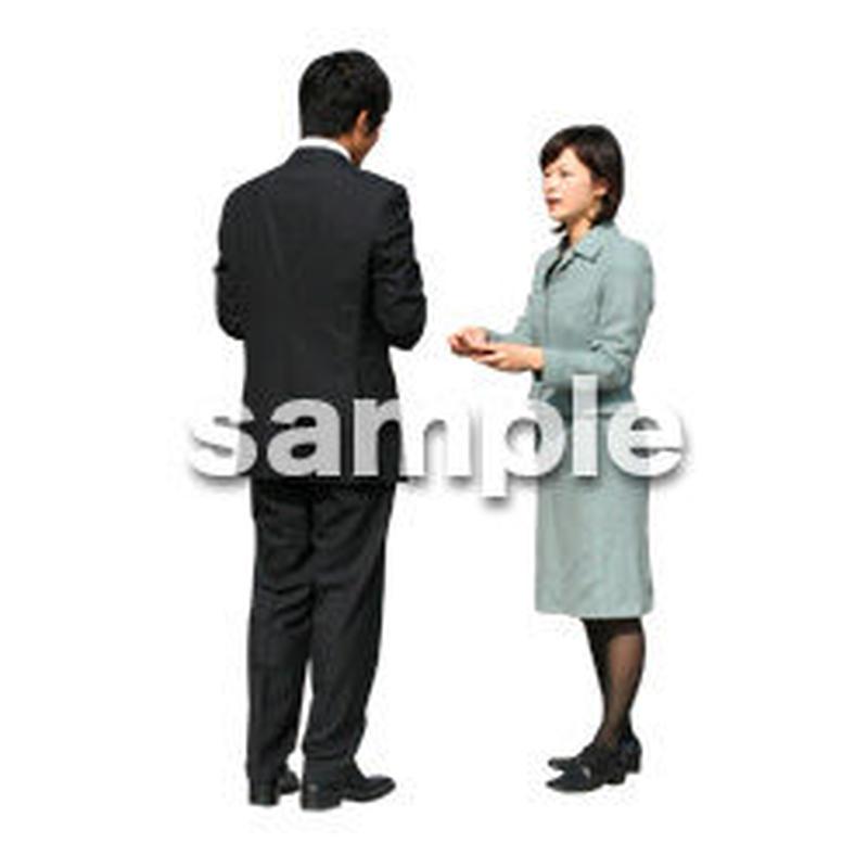 人物切抜き素材 オフィス・フォーマル編 G_032