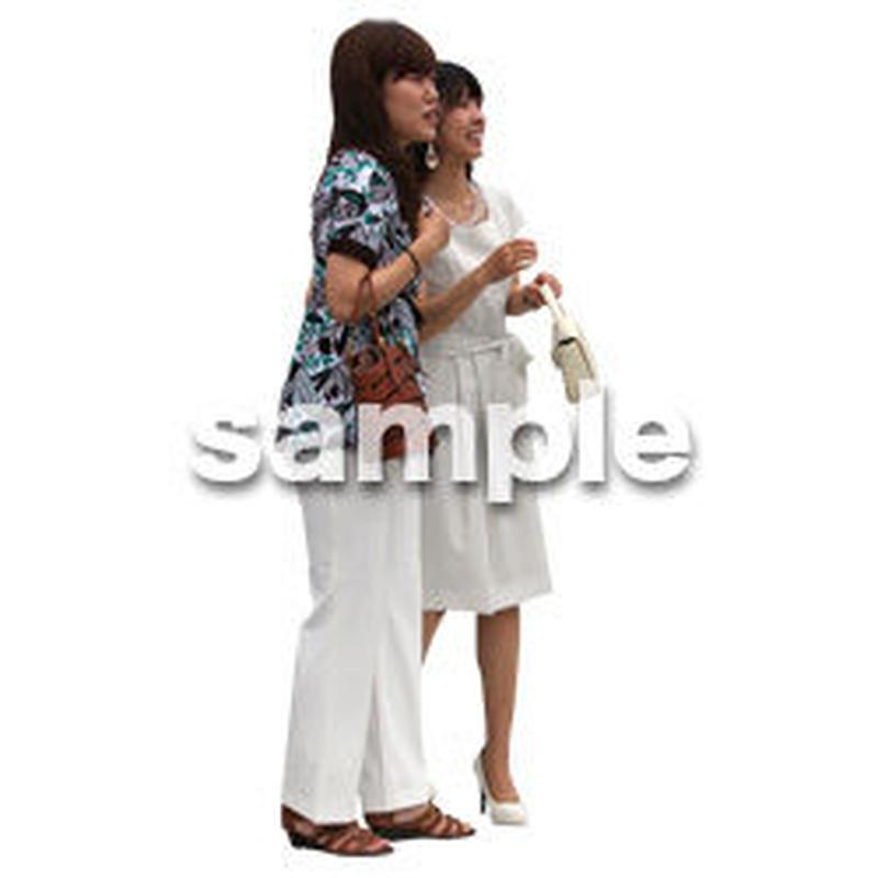 人物切抜き素材 アーバン・ショッピング編 M_063