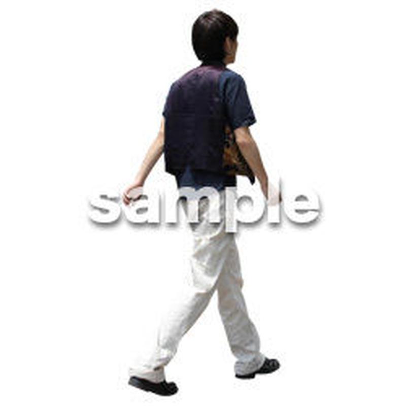 人物切抜き素材 アーバン・ショッピング編 M_315