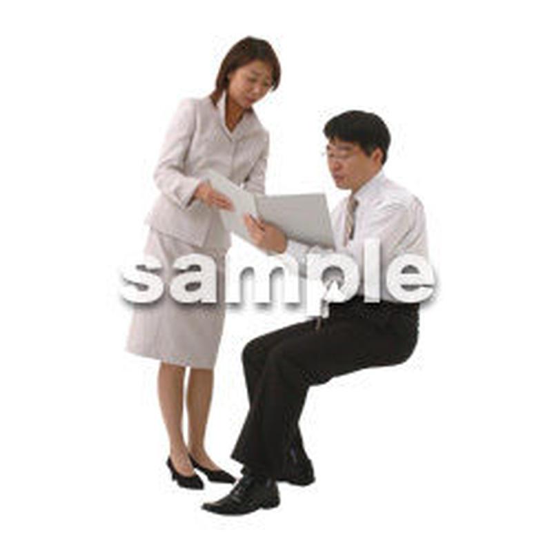 人物切抜き素材 オフィス・フォーマル編 G_054