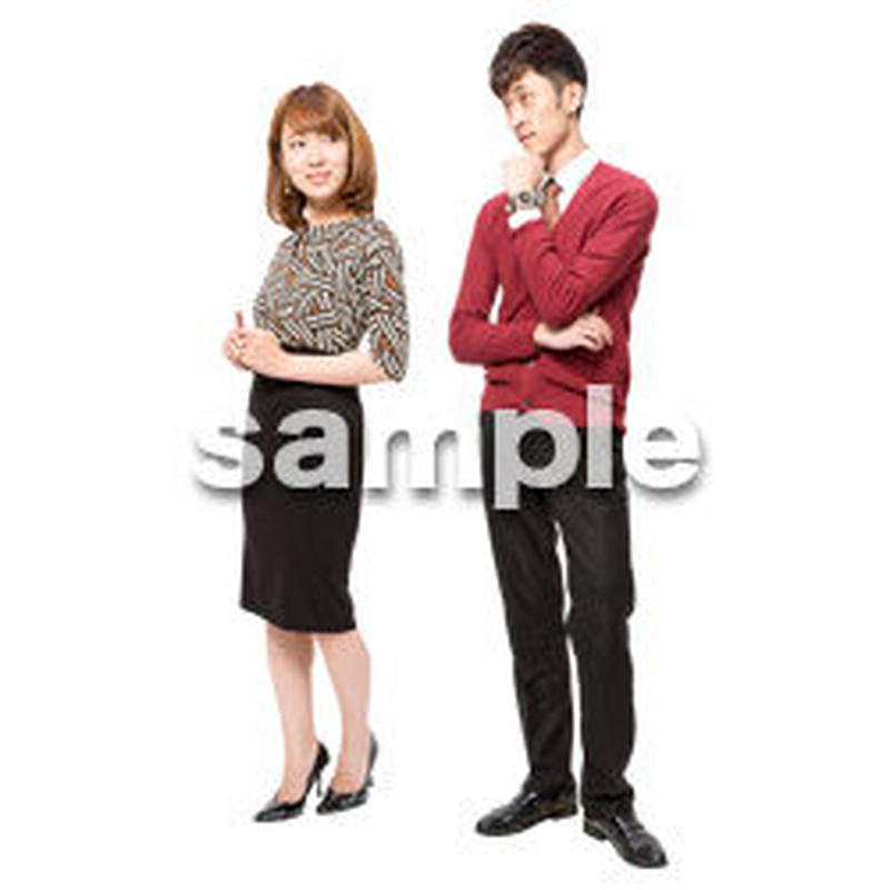 Cutout People ハイクラス 日本人 HH_202