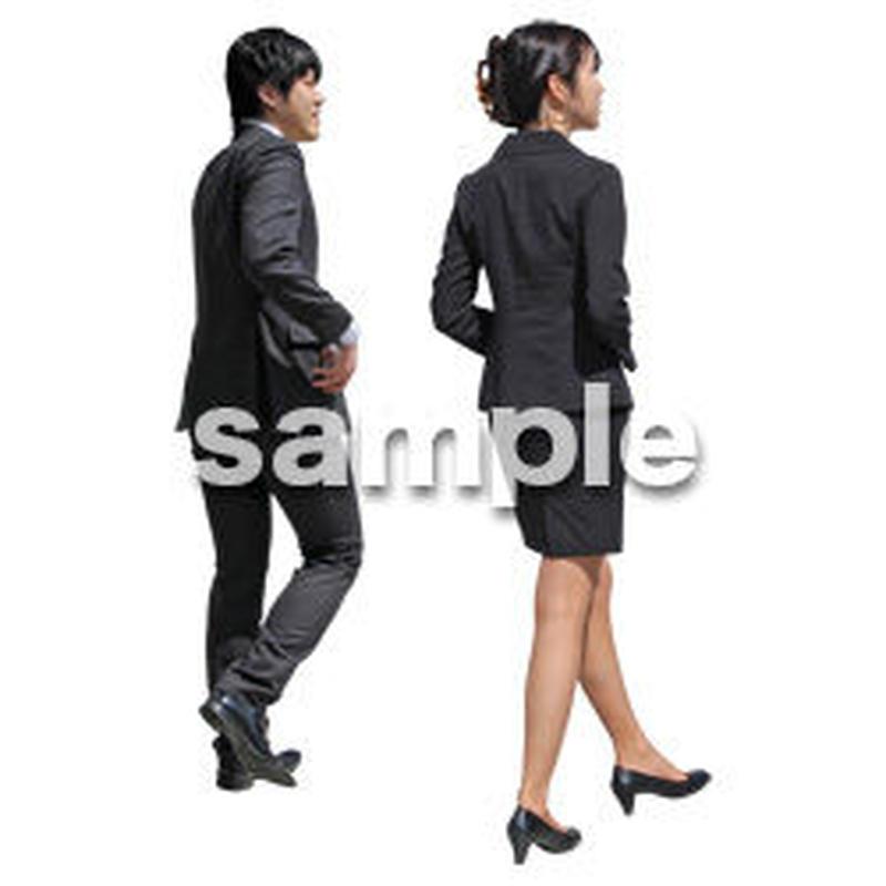 人物切抜き素材 ベーシックファッション編 P_064