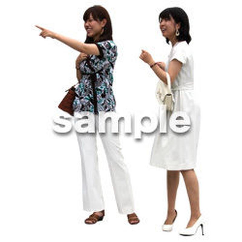 人物切抜き素材 アーバン・ショッピング編 M_061