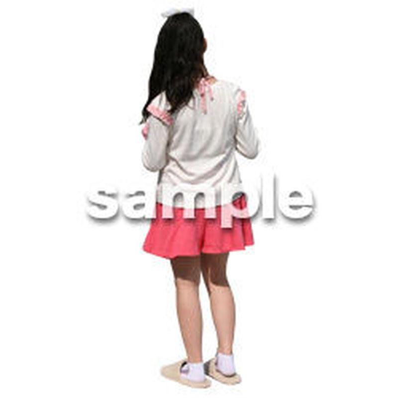 人物切抜き素材 リビング・散歩編 I_442