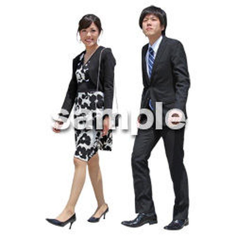 人物切抜き素材 ベーシックファッション編 P_057