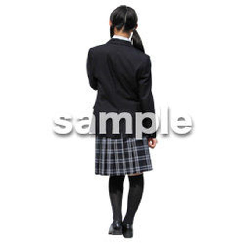 人物切抜き素材 キッズ・スクール編 O_399