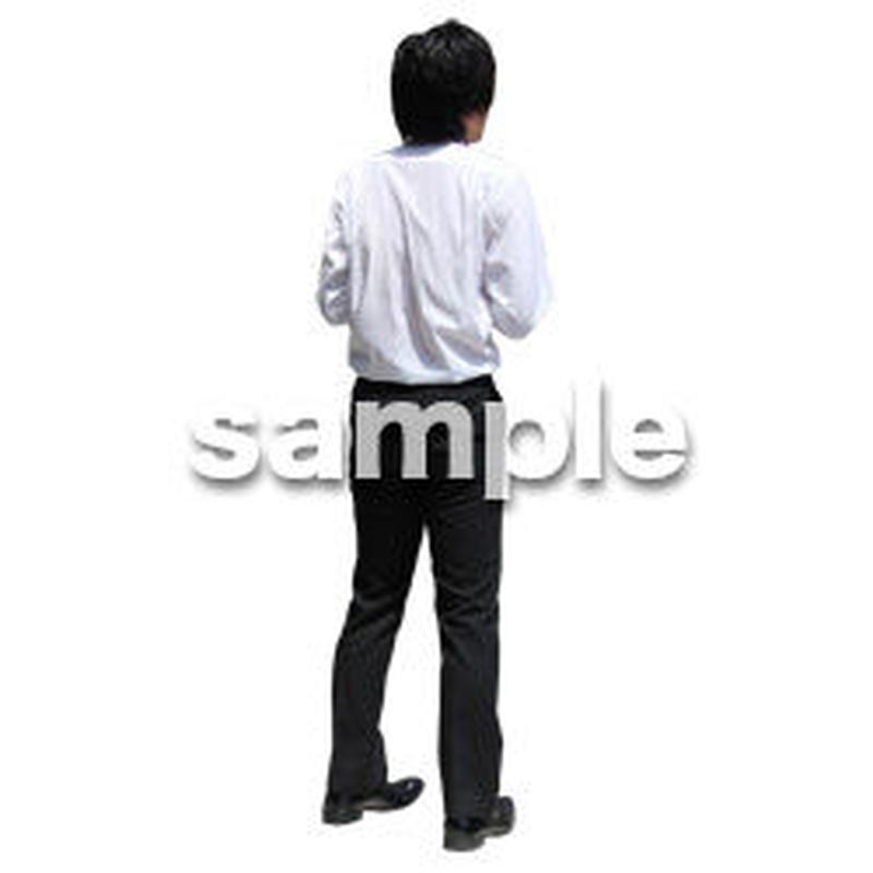 人物切抜き素材 ベーシックファッション編 P_350