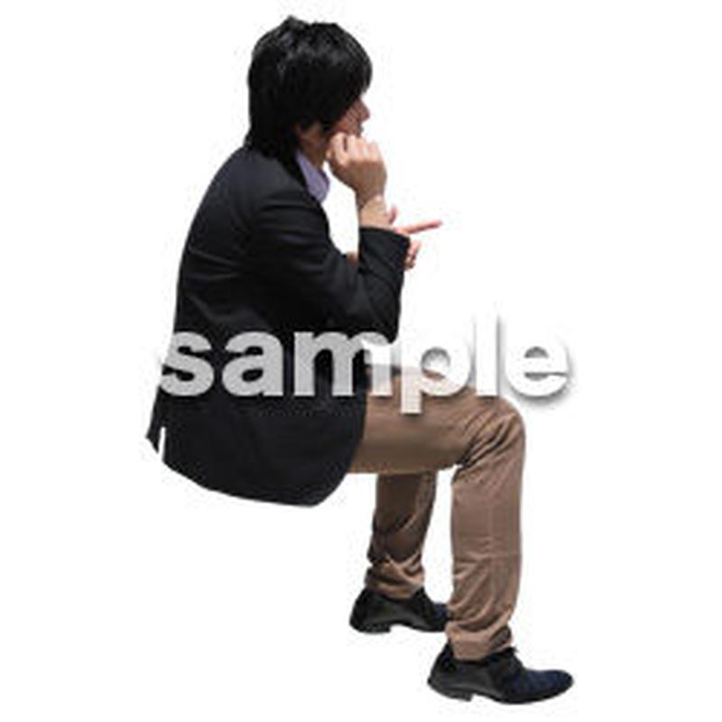 人物切抜き素材 アーバン・ショッピング編 M_498