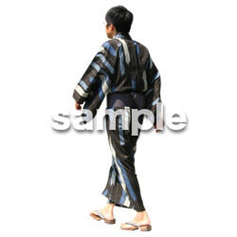人物切抜き素材 夏服・フィットネス編 J_053