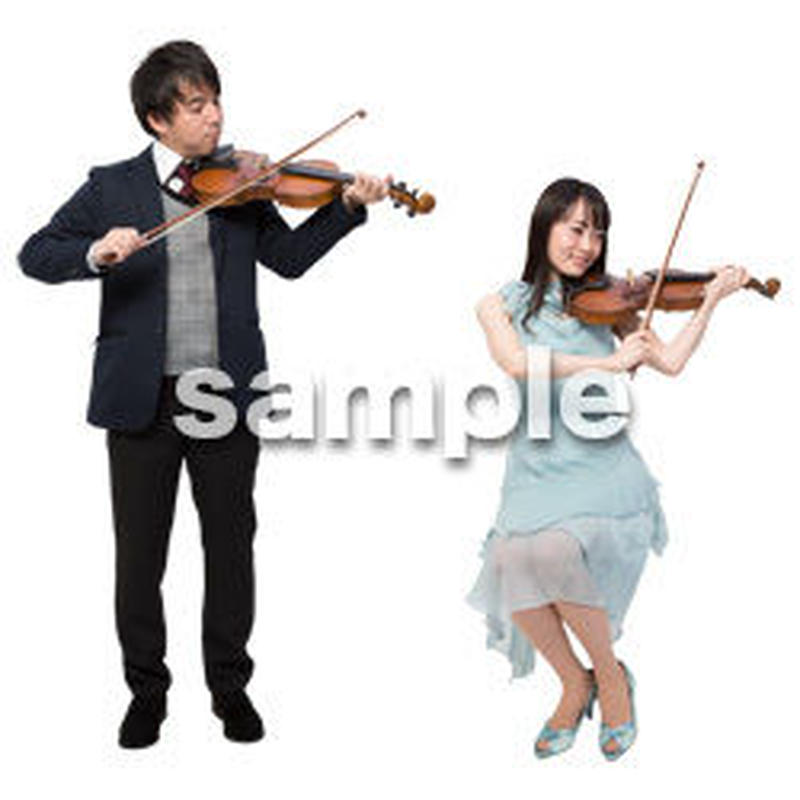 Cutout People ハイクラス 音楽演奏 HH_426