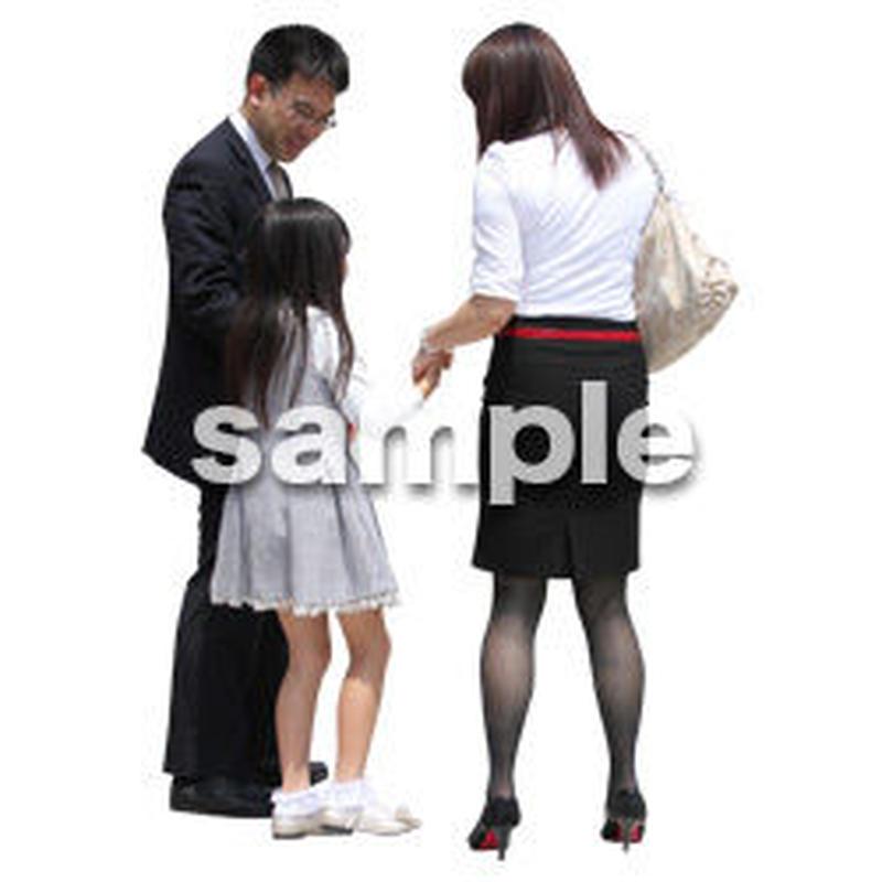人物切抜き素材 アーバン・ショッピング編 M_069