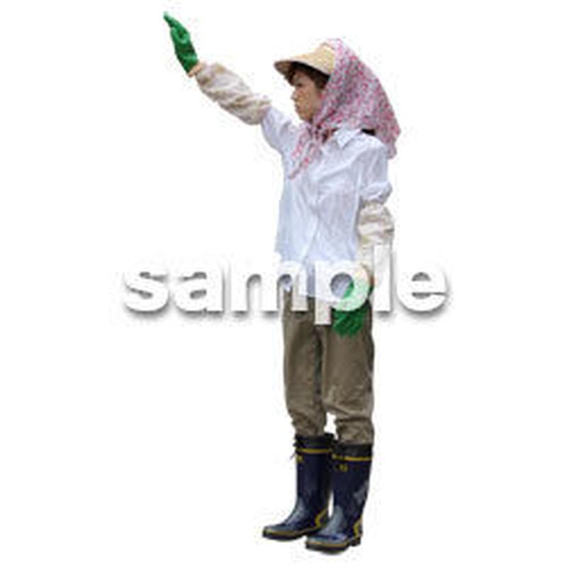農作業 女性 NO_07