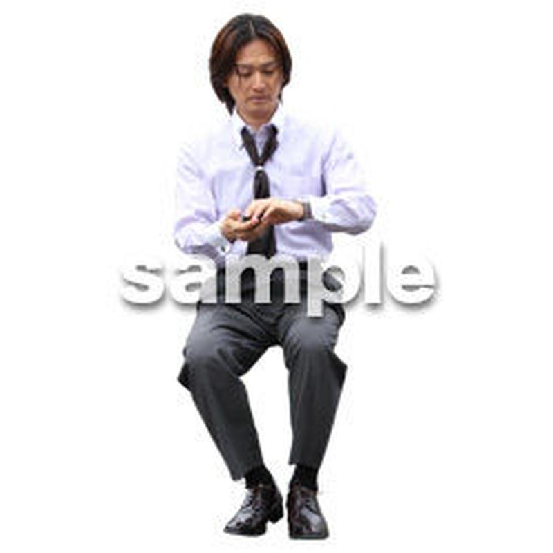 人物切抜き素材 アーバン・ショッピング編 M_490