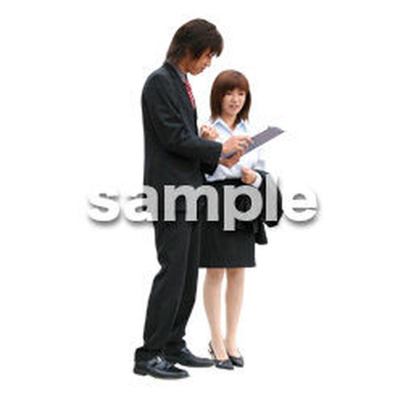 人物切抜き素材 オフィス・フォーマル編 G_039