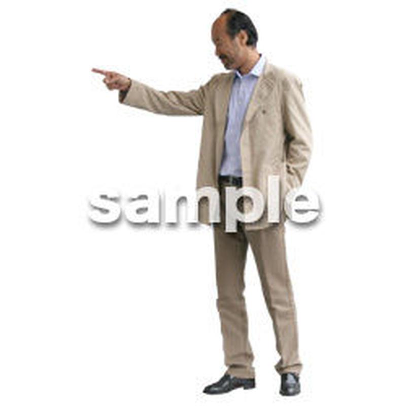 人物切抜き素材 リビング・散歩編 I_119