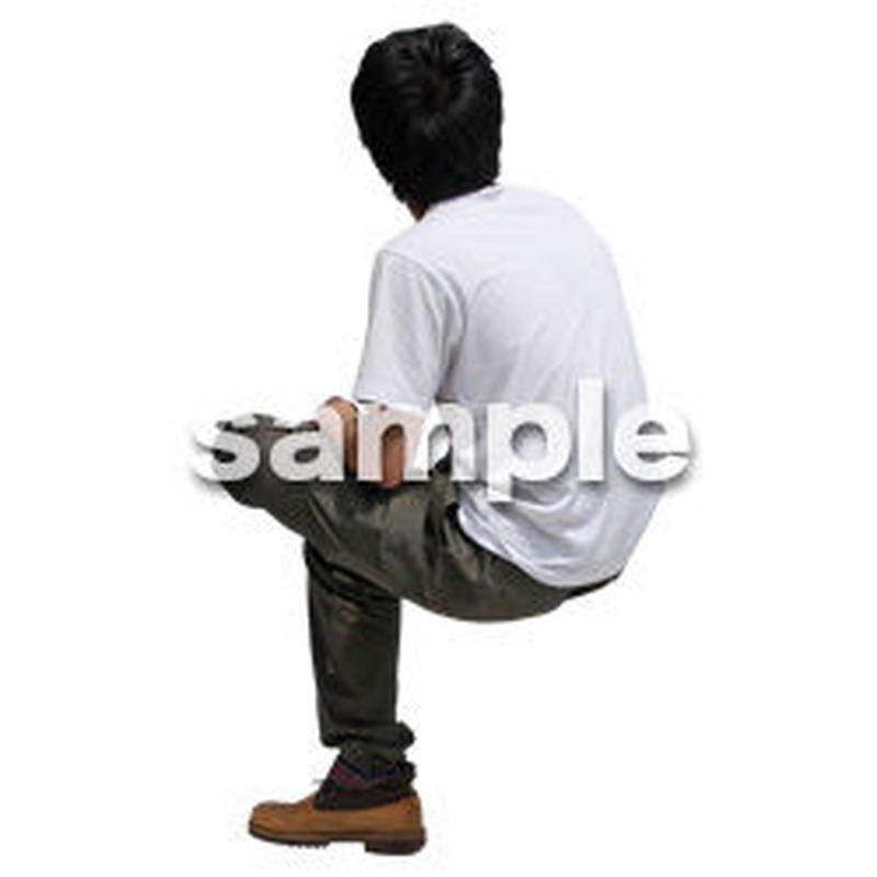 人物切抜き素材 レジャー・ショッピング編 L_484