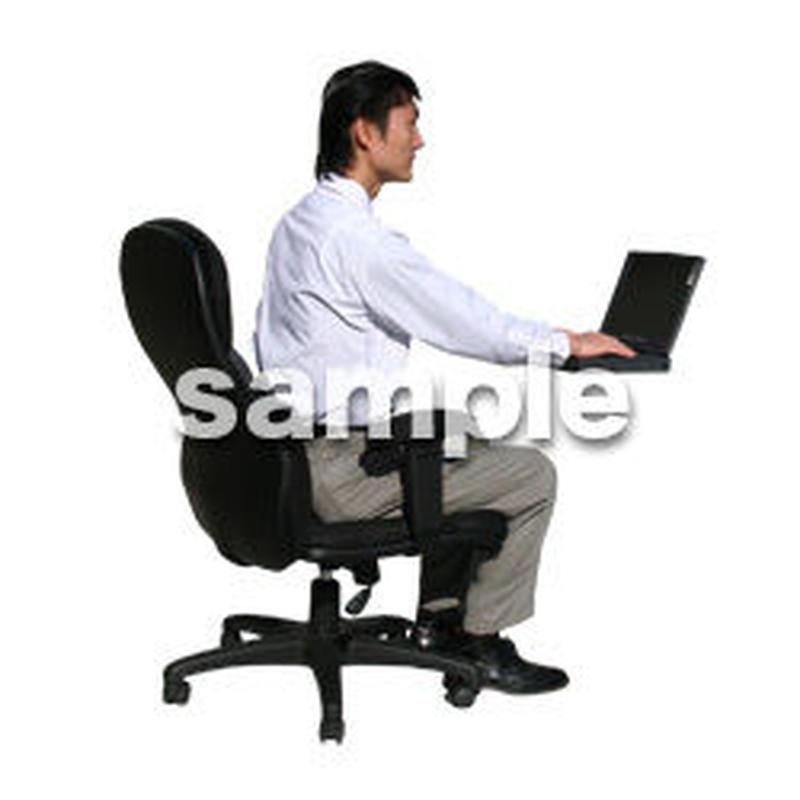 人物切抜き素材 オフィス・フォーマル編 G_170