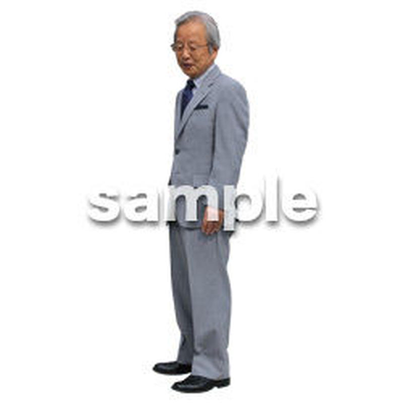 Cutout People ビジネス-日本人 EE_252
