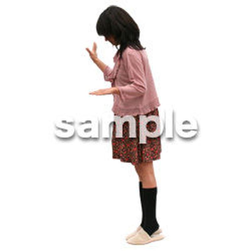 人物切抜き素材 リビング・散歩編 I_253