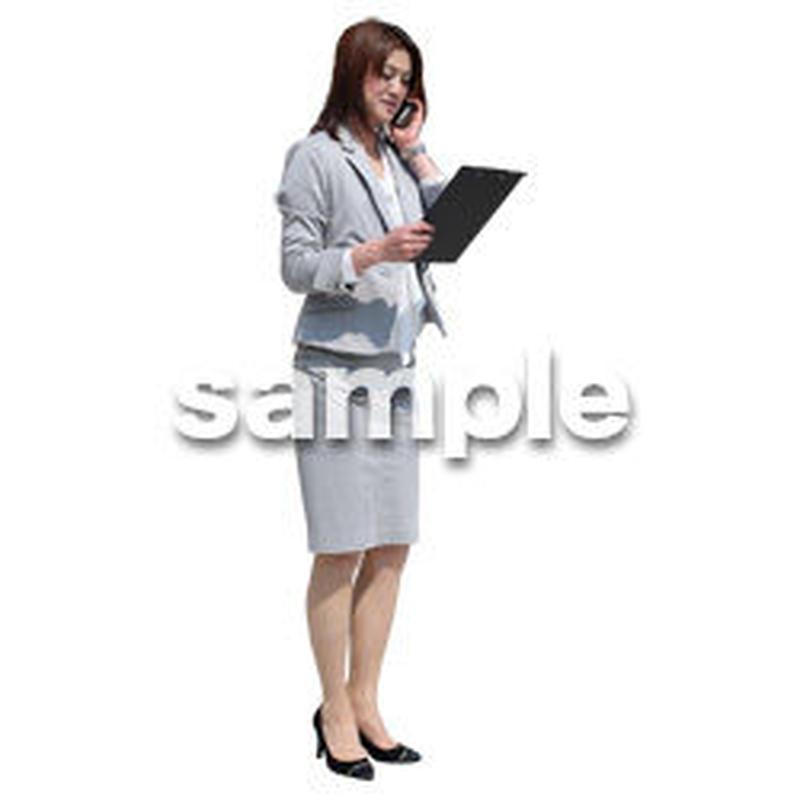 Cutout People ビジネス-日本人 EE_412