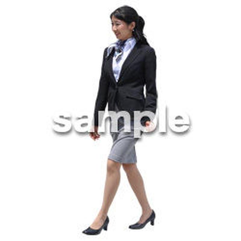 Cutout People ビジネス-日本人 EE_392