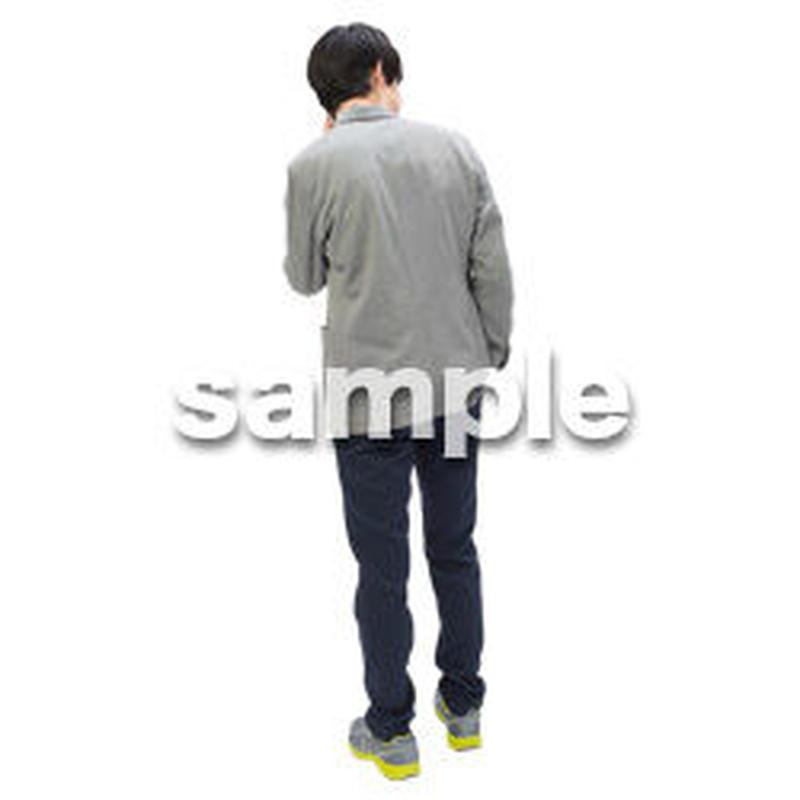 Cutout People ビジネス-日本人 EE_295