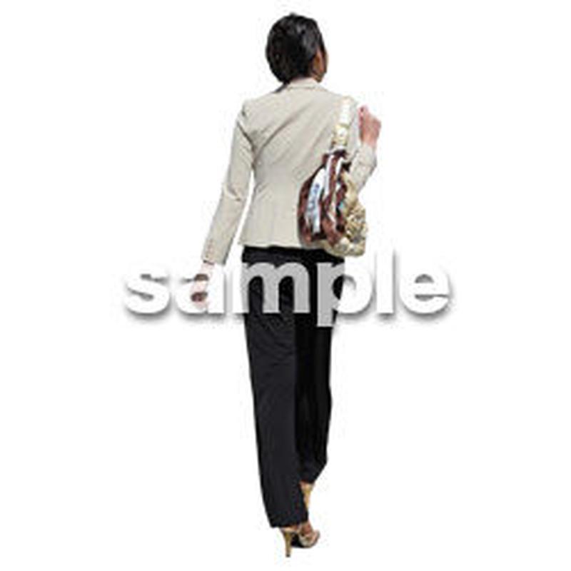 人物切抜き素材 ベーシックファッション編 P_155