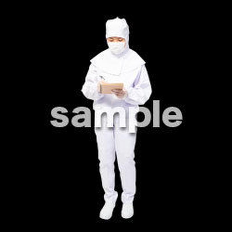 白衣食品スタッフ HA_11
