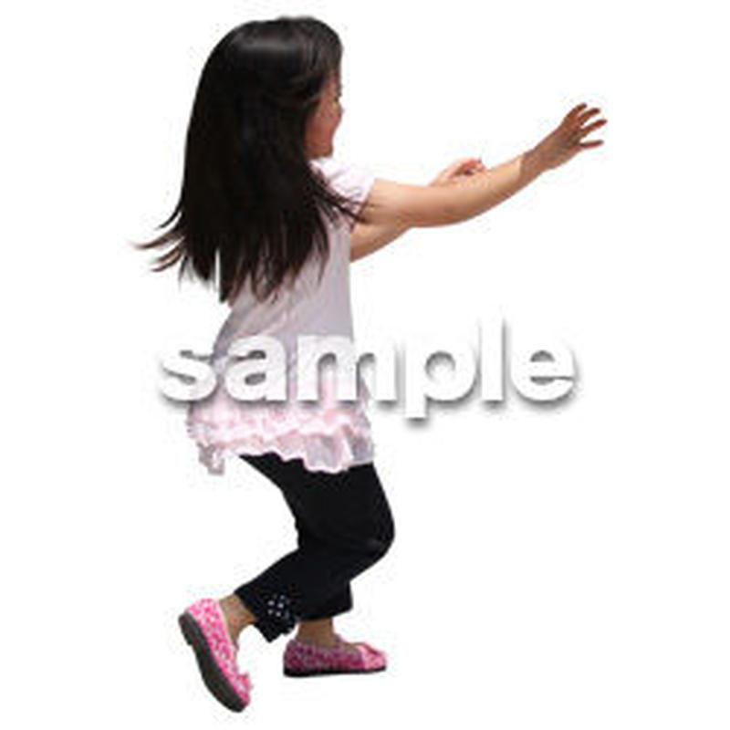 人物切抜き素材 レジャー・ショッピング編 L_394