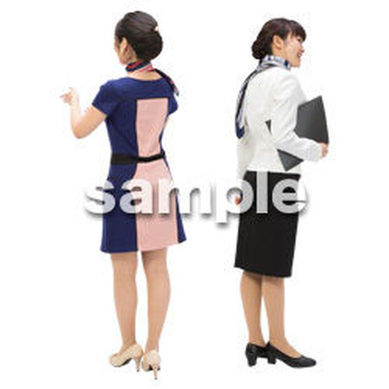 Cutout People ビジネス-日本人 EE_119