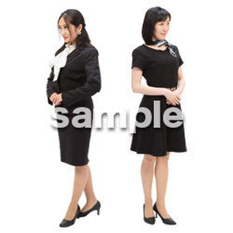 Cutout People ビジネス-日本人 EE_107