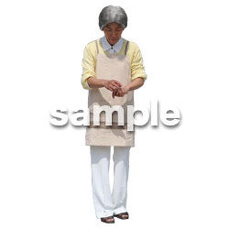 人物切抜き素材 シニアライフ編 R_186