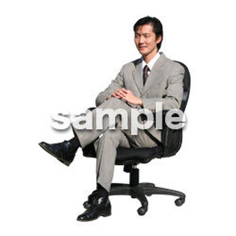 人物切抜き素材 オフィス・フォーマル編 G_176