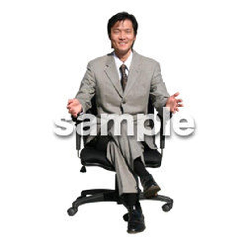 人物切抜き素材 オフィス・フォーマル編 G_174