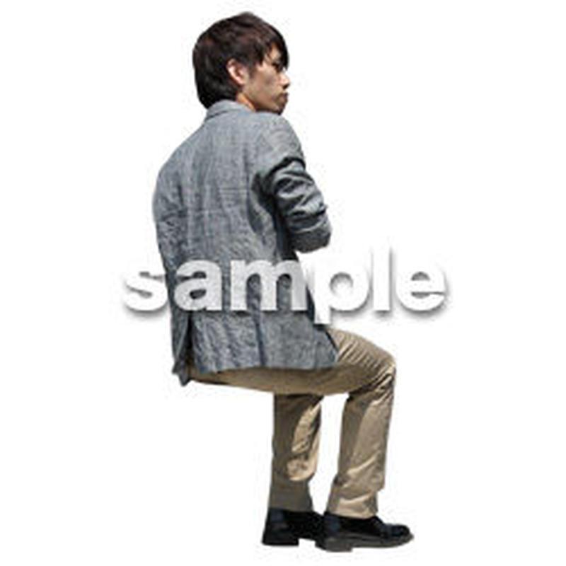 人物切抜き素材 アーバン・ショッピング編 M_483