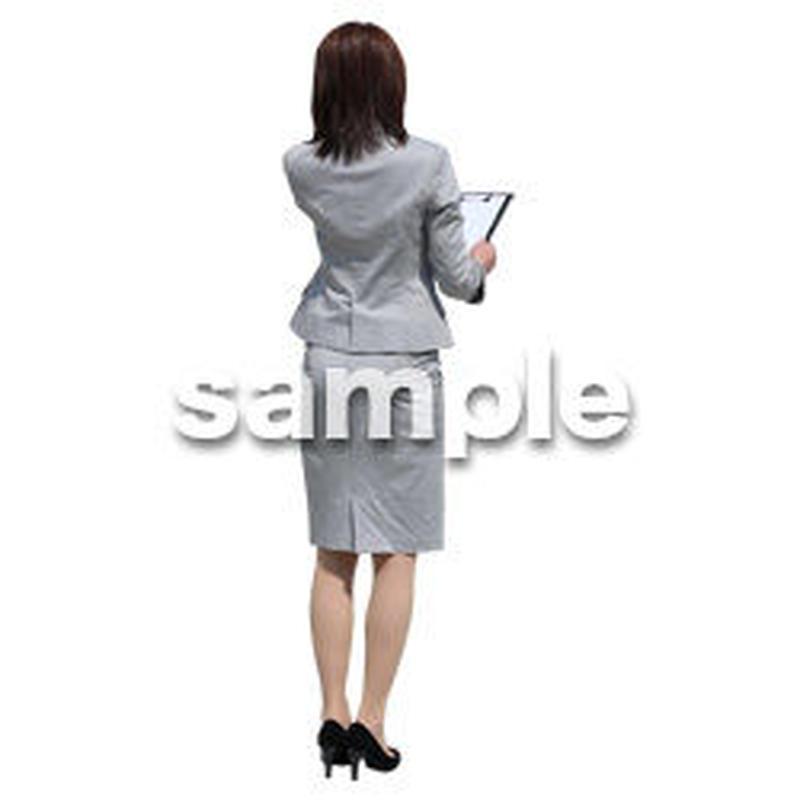 Cutout People ビジネス-日本人 EE_415