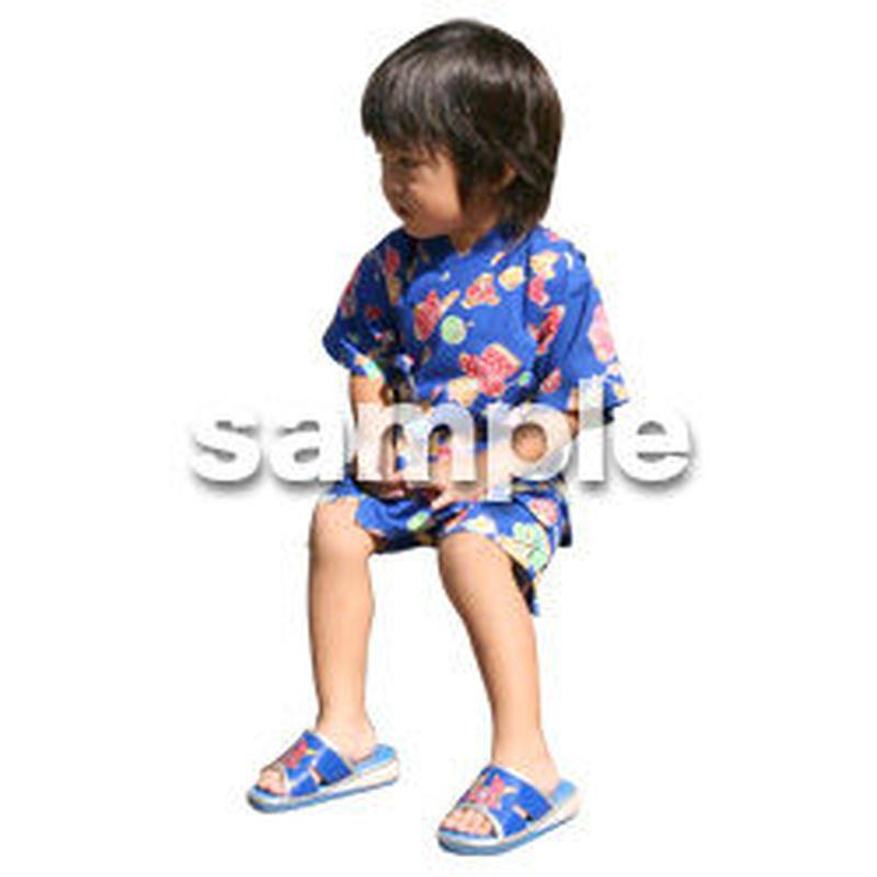 人物切抜き素材 夏服・フィットネス編 J_063