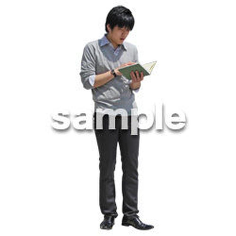 人物切抜き素材 ベーシックファッション編 P_362