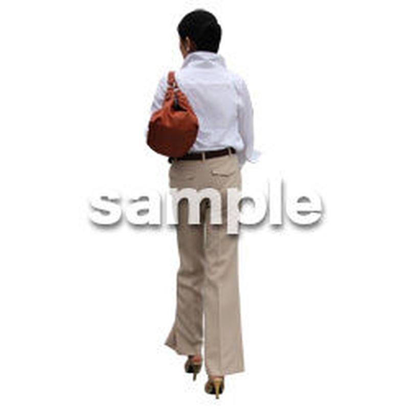 人物切抜き素材 アーバン・ショッピング編 M_222