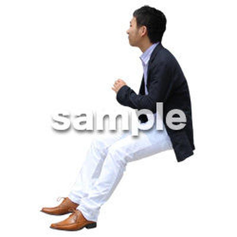 人物切抜き素材 アーバン・ショッピング編 M_476
