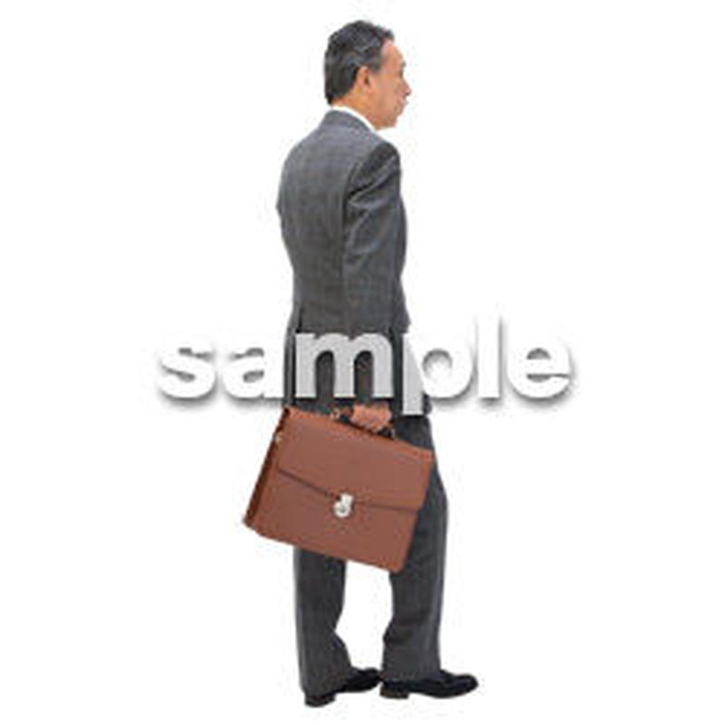 Cutout People ビジネス-日本人 EE_249
