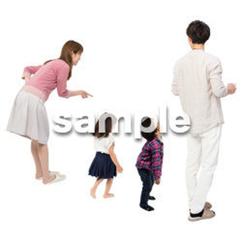 Cutout People 4人家族 II_334