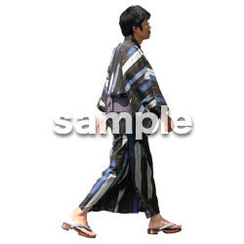 人物切抜き素材 夏服・フィットネス編 J_052
